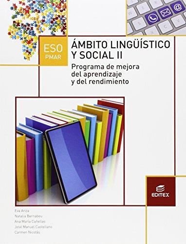 PMAR II Ámbito Lingüístico y Social (Secundaria) - 9788490786062 por Carmen Nicolás Vicioso