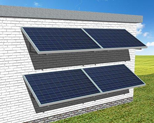 1,06 kWp Plug-In Solaranlage mit Direkteinspeisung ins Hausnetz | Solarstrom erzeugen für Eigenverbrauch