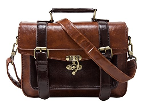 - 5109STHxEkL - ECOSUSI Designer Women Vintage Messenger Bag Satchel Purse