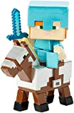 Best ALEX Toys Friends Gifts Kids - Mattel Minecraft Deluxe Alex On Armored Horse Mini Review