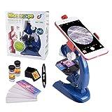 Die besten Spielzeug und Kinder Mikroskope - HONPHIER Mikroskop für Kinder LED Kinder Mikroskop Kinder Bewertungen