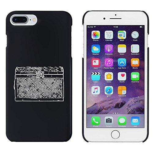 Schwarz'Hölzerne Truhe' Hülle für iPhone 7 Plus (MC00108213)