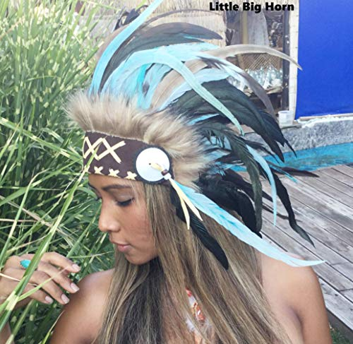 Federhaube War bonnet Federhaube Indianer Kopfschmuck, Karneval, Fotoshooting, Federhaube Dekoration Kopfschmuck coiffe indienne Real Feather war bonnet Indian Headdress War bonnet Real Feathers Indian Headdress - Tocado indio Fotoshootings 2018 Little Big Horn