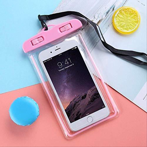 Rentlooncn wasserdichte Handyhülle Universal Unterwasser-Handy Smart Phone Dry Pouch Cover für iPhone 6 6s 7 X Xr Samsung XiaomiPink (Rosa Gehäuse Für Iphone 4s)