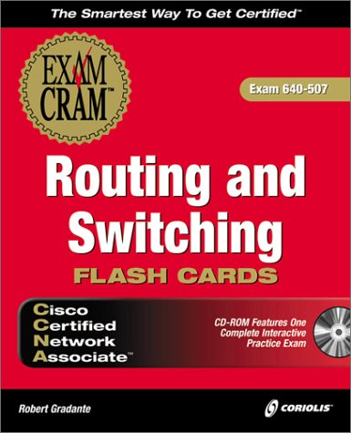 Cisco CCNA Routing and Switching Exam Cram Flashcards (Certification Insider Press) por Certification Insider Press
