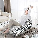 XUE Bean Bag Chair, Lazy Divano Cotone e Lino Sedia Moderna Minimalista Piccolo Divano Singolo Mini Tatami Rimovibile e Lavabile
