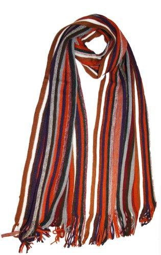 Socks Uwear - Echarpe - Homme - Multi Stripe With Tan
