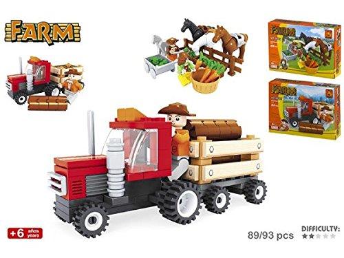 Color Baby - Juego de construcción: Granja, 89 o 93 piezas (37390)
