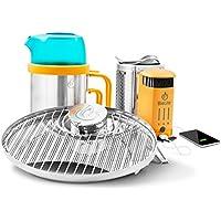Biolite Bundle: Campstove 2, Portablegrill &amp Kettlepot, Grün, M
