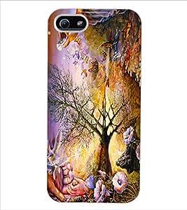 ColourCraft Creative Art Design Back Case Cover for APPLE IPHONE 5