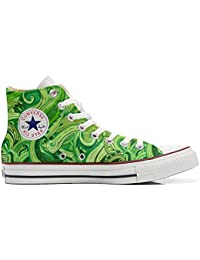 Converse All STar CUSTOMIZED , Sneaker Unisex, printed Italian style Abstract