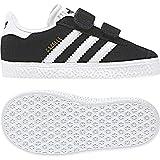 adidas Gazelle CF I, Pantofole Unisex-Bimbi, Nero (Negbas/Ftwbla 000), 21 EU