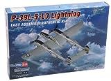 Hobbyboss 1: 72échelle p-38l-5-l0Lightning Kit modèle moulé sous Pression