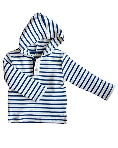 8899b11e5285 Leela Cotton Childs Hooded Shirt Made Of Organic Cotton ...
