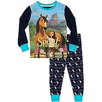 DreamWorks Girls Spirit Riding Free Pyjamas Snuggle Fit
