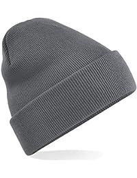 Beechfield - Winter Strickmütze / Graphite Grey, Einheitsgröße Einheitsgröße,Graphite Grey