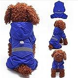 Yosoo Double Layers Pet Dog Puppy Raincoat...