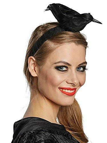 Rubies Rabe Haarreif Halloween (Vogel Kostüm Kopfbedeckung)