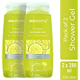 Skinbeing Lime Quat Showergel, Lime, 280 ml (Pack of 2)