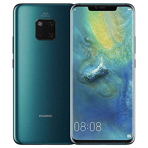 HUAWEI Mate-20 Pro LYA-L29 128GB + 6GB - Fabrik entriegelte International Version - nur GSM, CDMA NO - Keine in den USA (Emerald Green) -
