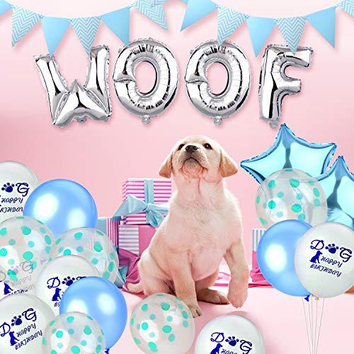 Legendog Dog Birthday Decorations Party