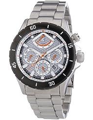 Carucci Watches Herren-Armbanduhr XL Gallarate Analog Automatik Edelstahl CA2186ST-SL
