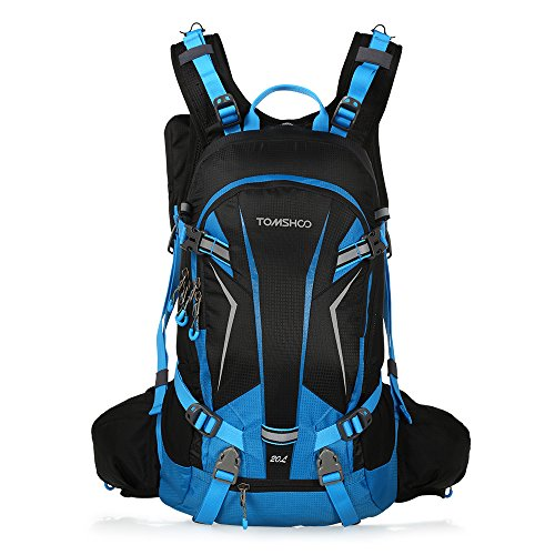 TOMSHOO Mochila Ciclismo 20L Impermeable Excursionismo