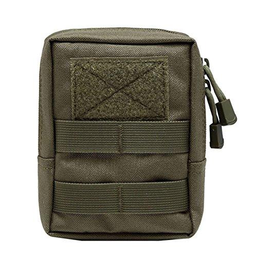 Shiningup wasserdichte Outdoor Taille Tasche 1000D Multifunktions EDC Molle Werkzeug Reißverschluss Taille Pack Zubehör Durable Gürteltasche -