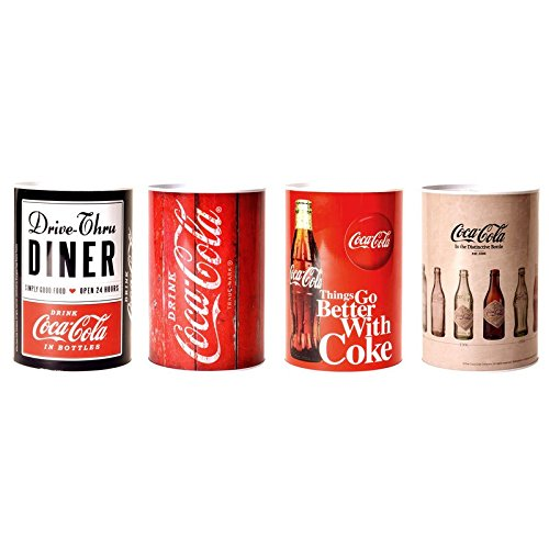Preisvergleich Produktbild Coca-Cola Spardose - Coke Retro Sparbüchse Cola Sparschwein Retro