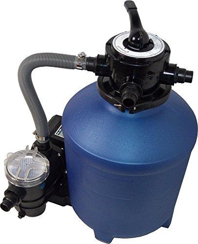 SPIRATO Splash 380 Sandfilteranlage, blau/schwarz