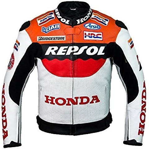 Honda Repsol Team Chaqueta de cuero (XL (EU56))