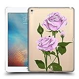 Head Case Designs Pfund Silber Rosen Und Wildblumen Ruckseite Hülle für iPad Pro 9.7 (2016)
