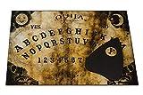 Wiccan Star Ouija Brett. Hexenbrett mit detaillierten Anweisungen. Wahrsagerbrett