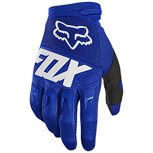 Fox Dirtpaw Glove - Race Blue/White