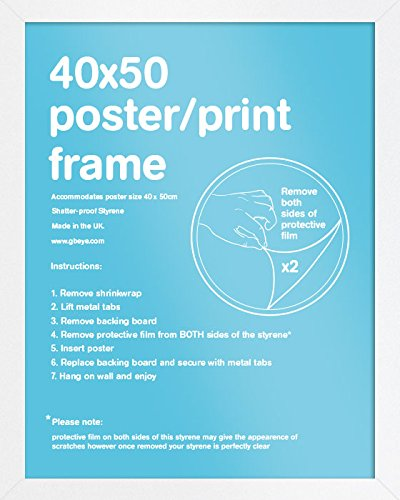 GB eye LTD, Blanc - Mini, 40x50cm - Eton, Marco