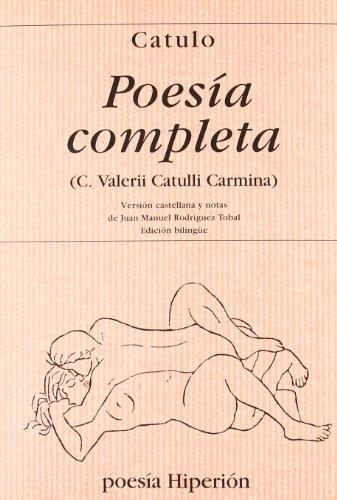 Poesía completa (Poesía Hiperión) por Cayo Valerio Catulo