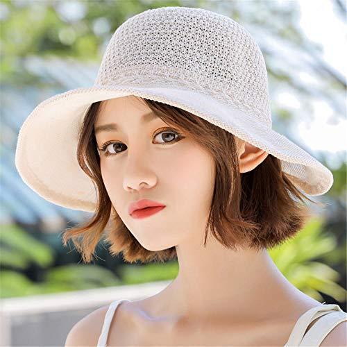 Imagen de sombrero suave respirable del pescador del visera de la protección solar de las vacaciones del mar del verano de las señoras suaves respirables alternativa