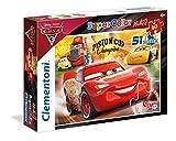 Clementoni 26424- Supercolor Puzzle - Cars 3 - 60Pièces - Disney