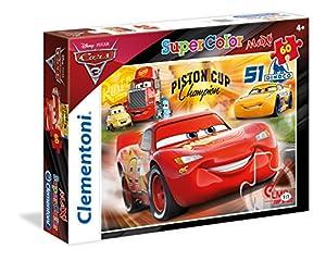 Clementoni 26424 Puzzle Puzzle - Rompecabezas (Puzzle Rompecabezas, Dibujos, Niños, Cars 3, Niño/niña, 4 año(s))