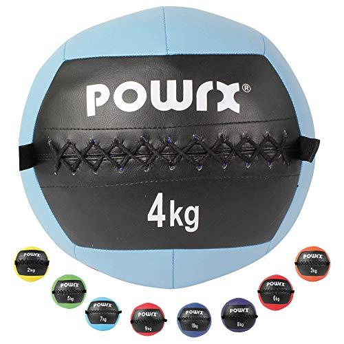 POWRX Wall Ball Balón Medicinal 2-10 kg