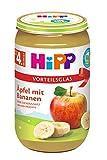 HiPP Früchte Äpfel mit Bananen, 6er Pack (6 x 250 g)