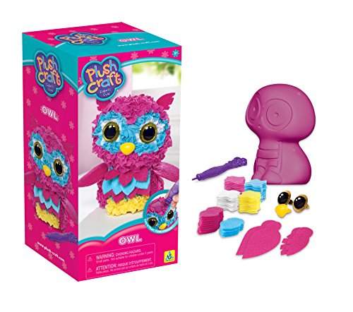 (Orb Factory 621440 - Plush Craft Owl 3D-Figur, Plüsch)