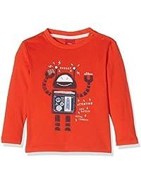 s.Oliver Baby-Jungen Spieler T-Shirt Langarm, Rot (Red 3065), 62