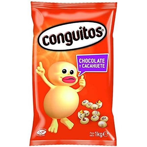 Conguitos Blancos Cacahuete con Chocolate - 1000 gr ...