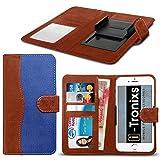 (Blau 154,3 x 76,5 mm) Tasche Hülle für BLU Vivo 8