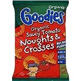 Organix plus organique Saucy tomate zéros & Crosses 12mth + (15g) - Paquet de 6