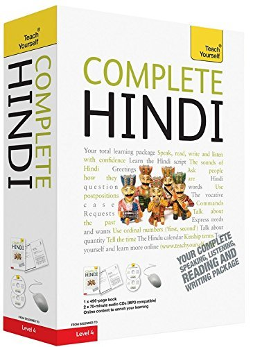 Complete Hindi Beginner to Intermediate Course: (Book and audio support) Learn to read, write, speak and understand a new language with Teach Yourself by Weightman, Simon, Snell, Rupert (November 26, 2010) Paperback