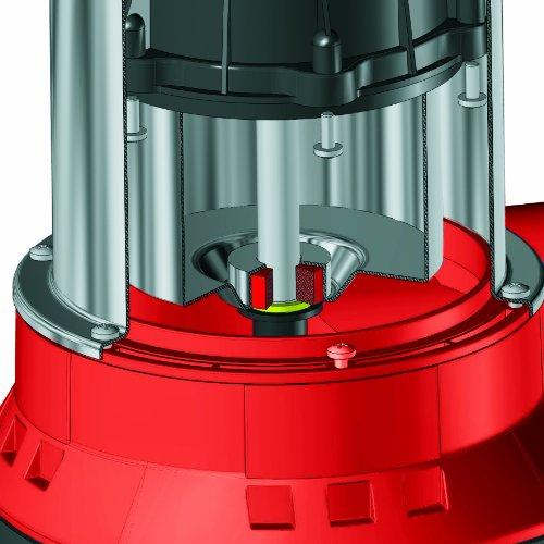 Einhell Schmutzwasserpumpe GC-DP 7835 (780 Watt, max. 15.700 l/h, max. 8 m Förderhöhe, Fremdkörper bis 35 mm, stufenloser Schwimmerschalter) -