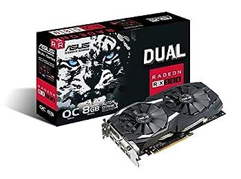 Asus DUAL-RX580-O8G, Ekran Kartı, Radeon RX580, Active