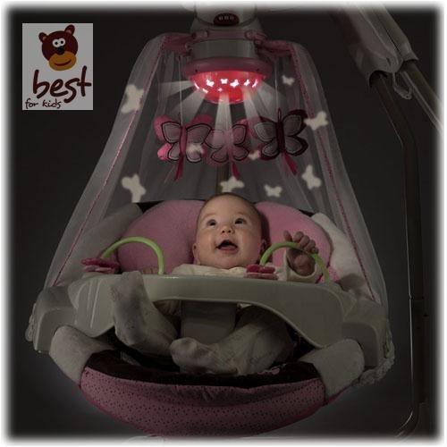Fisher – Price modelo T4522 hamaca bebe electrica mariposa - 2